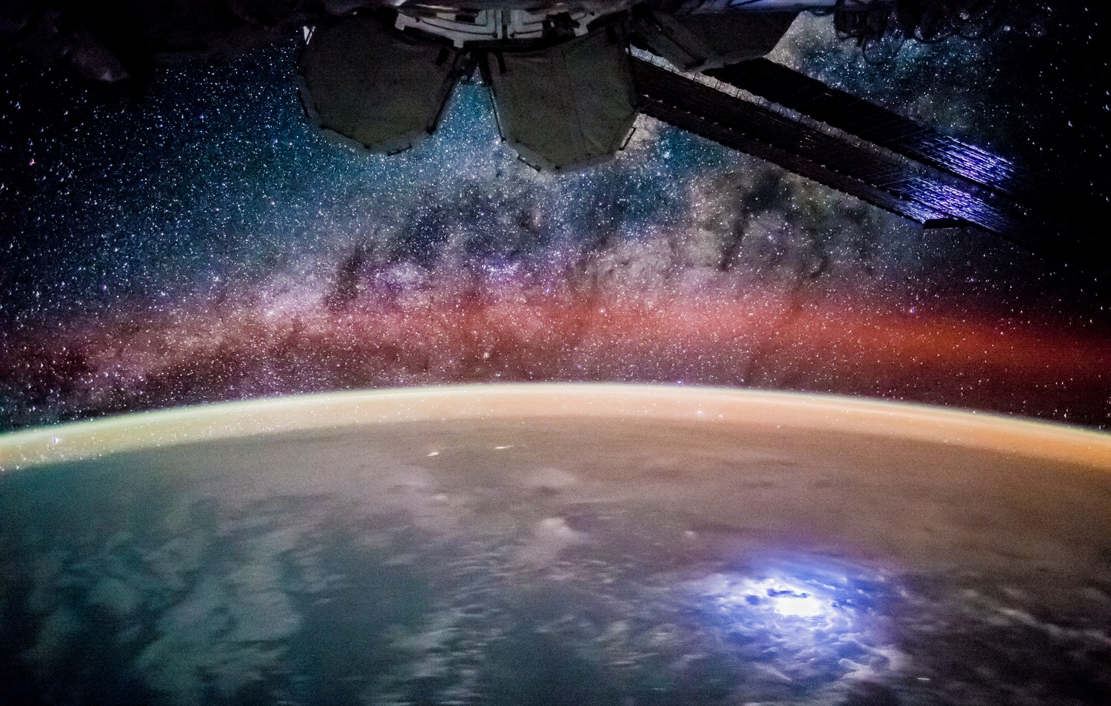 Stargazing From the Space Station | wordlessTech