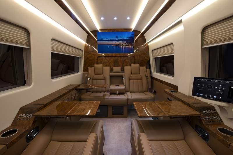 The 400 000 Mercedes Private Jet Of Vans Wordlesstech