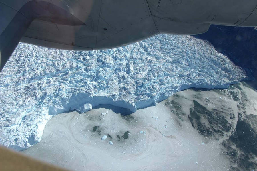 The Front of a Greenland Glacier