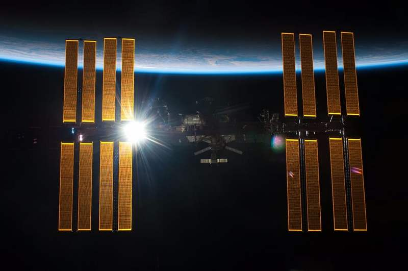 The Space Station has made its 100,000th Orbit (