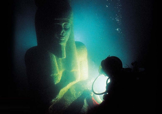 The secrets of two sunken cities of ancient Egypt