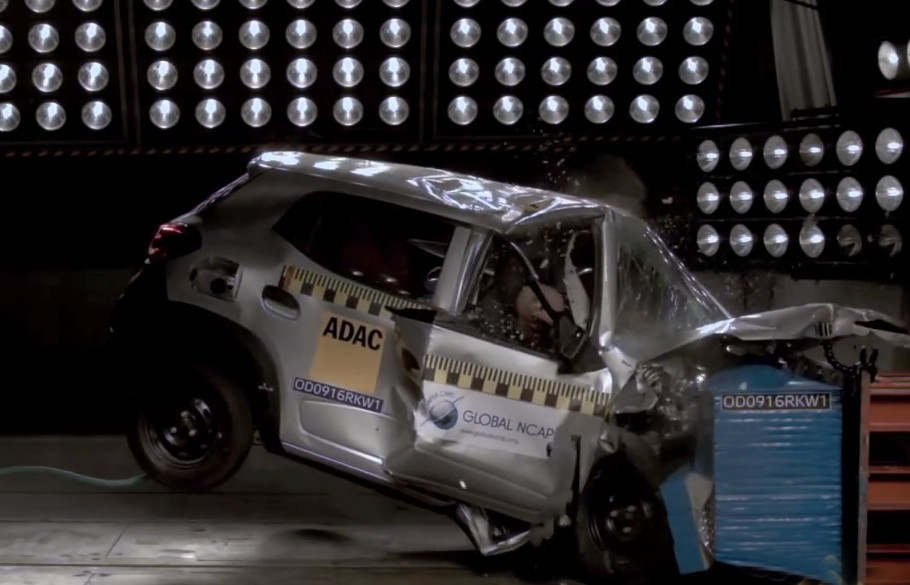 This is what Zero-Star Car Safety Rating Looks Like
