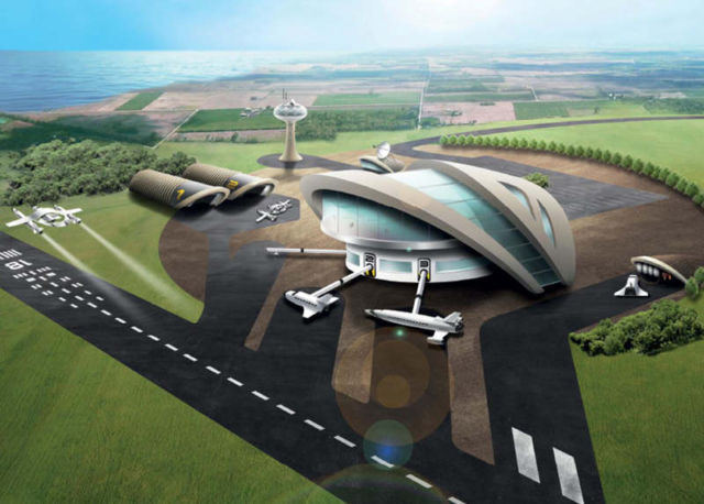 Vision for spaceports in the UK