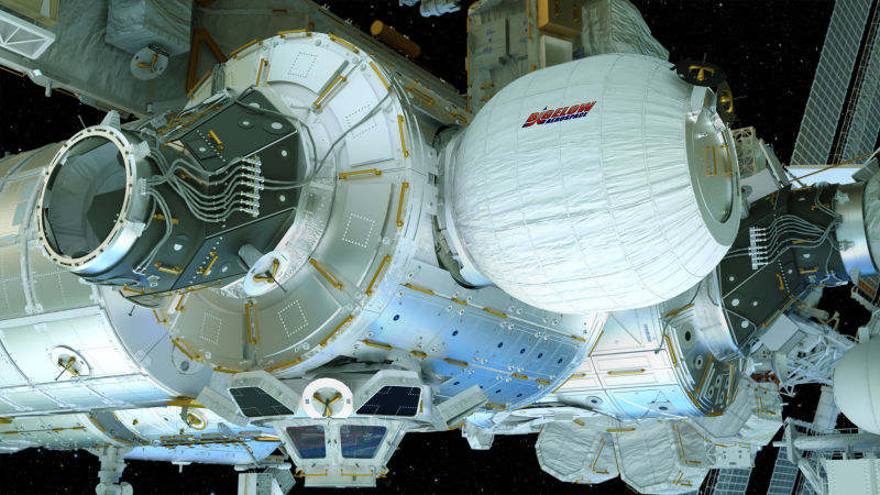 Watch Live the ISS astronauts inflate its new Space House