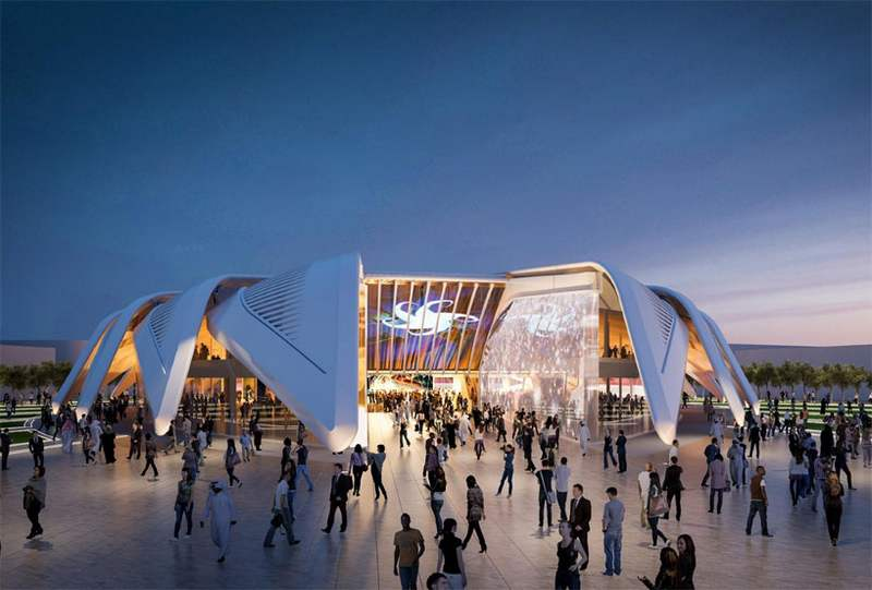 Winged Pavilion for Dubai Expo 2020 by Santiago Calatrava (2)