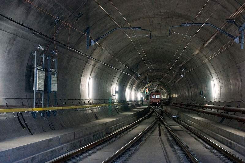 World's Longest Tunnel to open in Switzerland