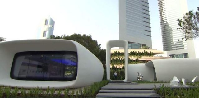 World's first 3D-Printed Building in Dubai