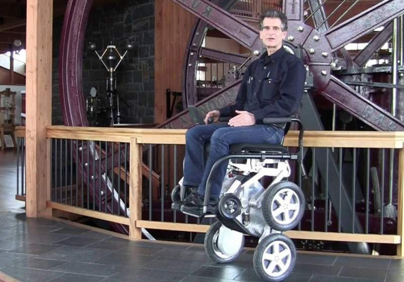iBOT next generation motorized wheelchair