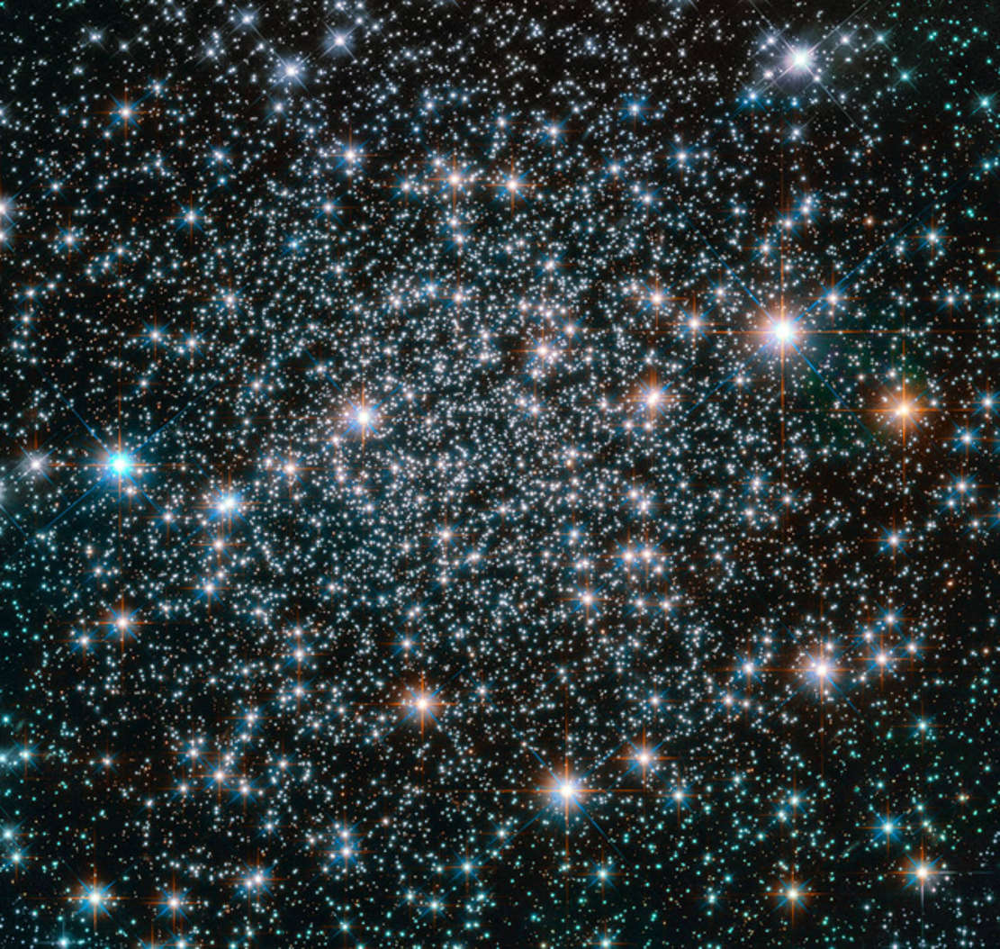 NGC 6496 10.5-billion-year-old Globular Cluster