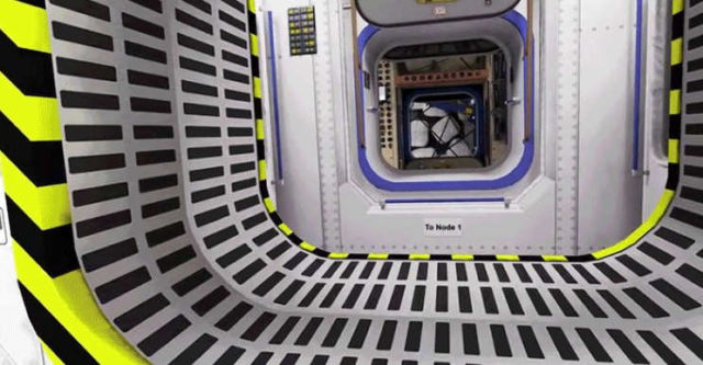 3D tour of the International Space Station