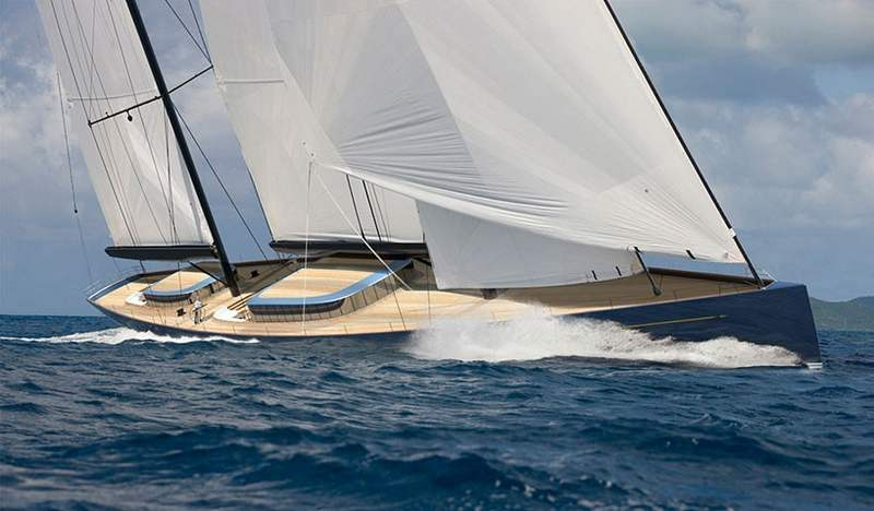 70 meter sailing yacht by Adam Voorhees (7)