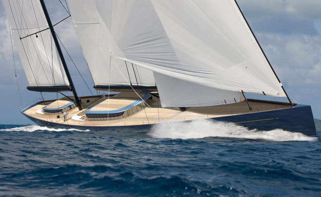 70 meter sailing yacht by Adam Voorhees (1)
