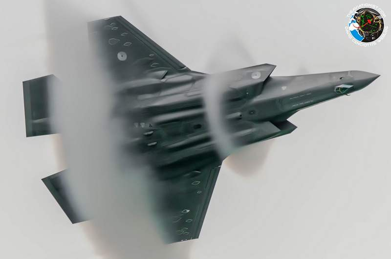 'shock collars' around an F-35
