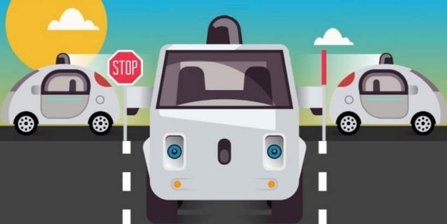 Are self-driving cars legal infographic