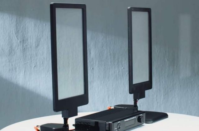 First Transparent Directional Speakers