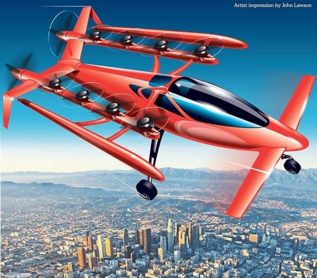 Zee.Aero Flying-Car