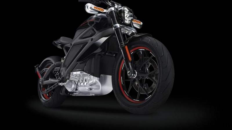 Harley-Davidson's LiveWire electric-powered motorcycle