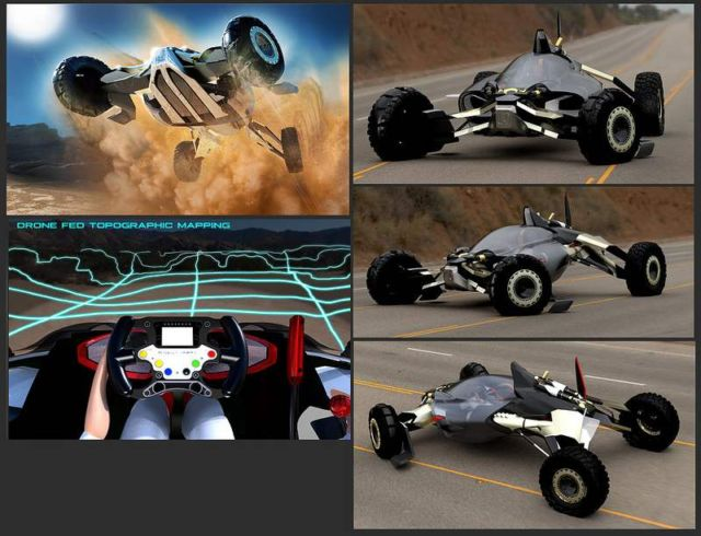 Honda Synergy Off-Road Buggy concept (1)