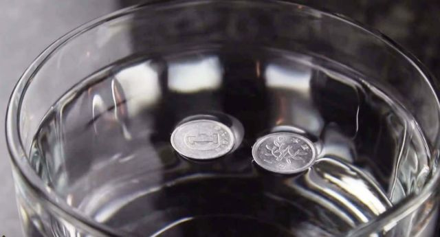 How To Make Metal Coins Float on Water