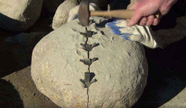 How to Cut and Shape a Stone