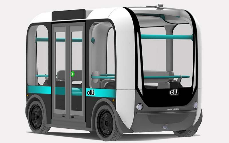 Image result for olli bus