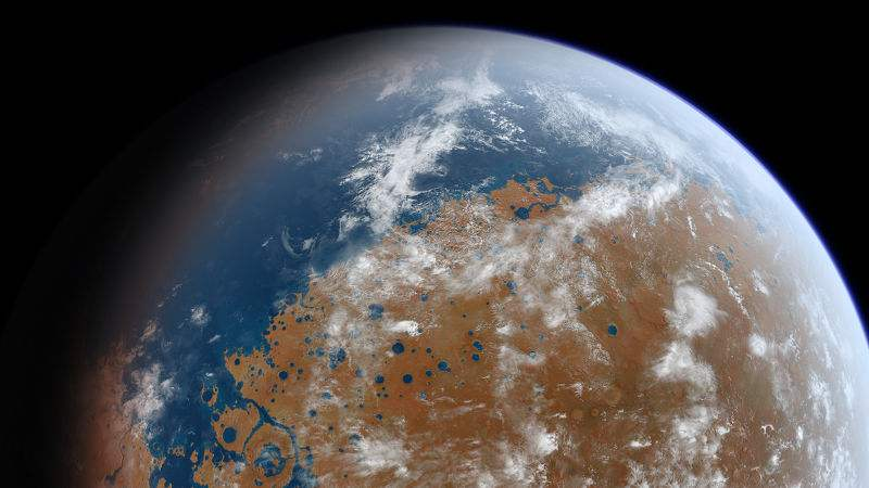 Mars was more Earth-like than we thought