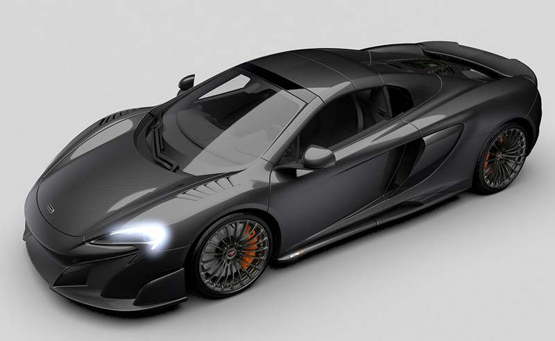 McLaren 675LT Spider Carbon Series