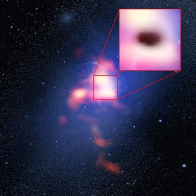 Cosmic Weather on a Supermassive Black Hole