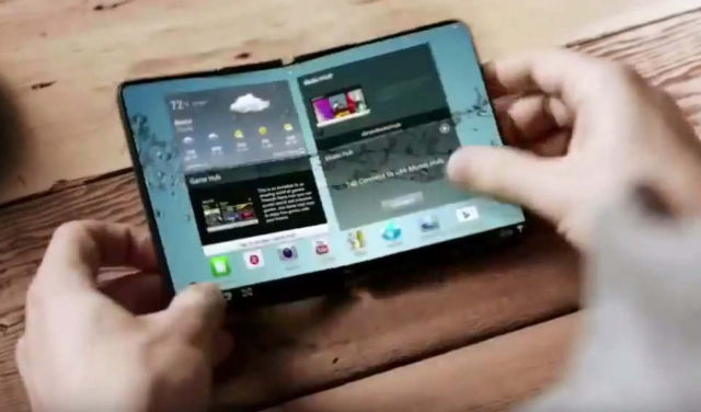Samsung's Foldable Android Smartphone (1)