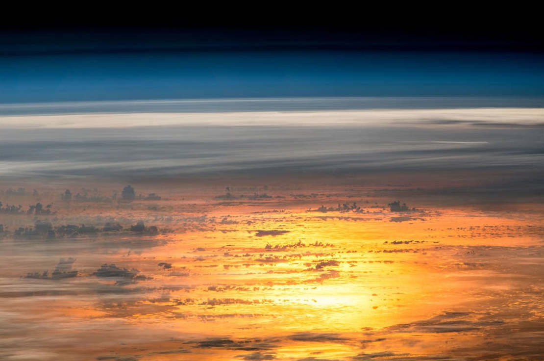 Sunset from the Space Station
