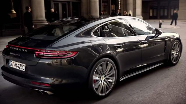 The 2017 Porsche Panamera Turbo