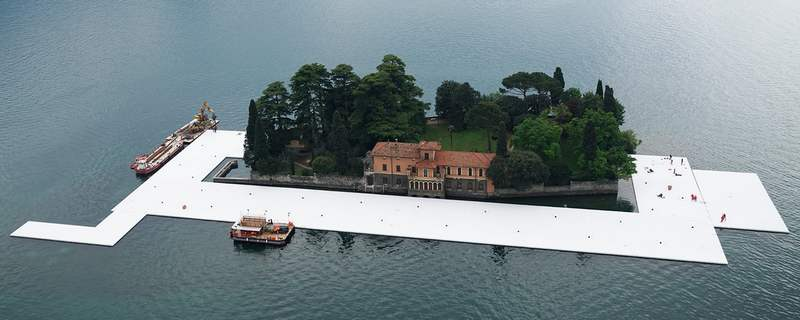 The Floating Piers in Italy (12)