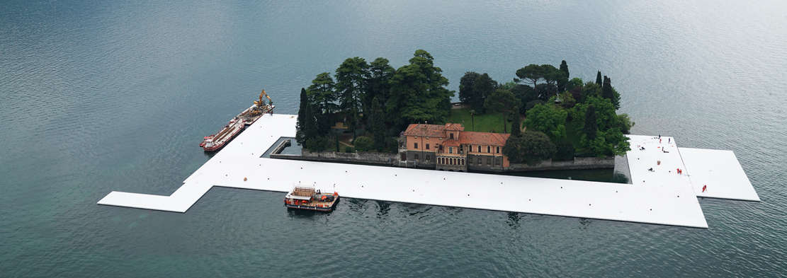 The Floating Piers in Italy (1)