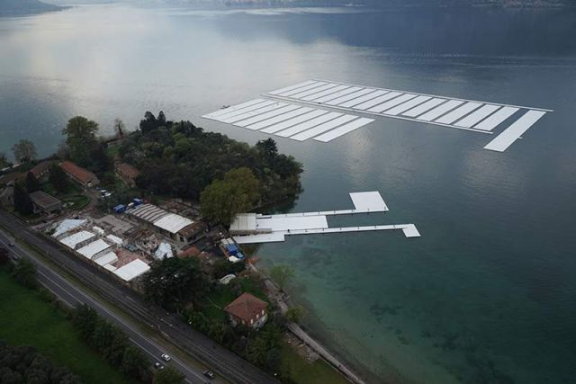 The Floating Piers in Italy (11)