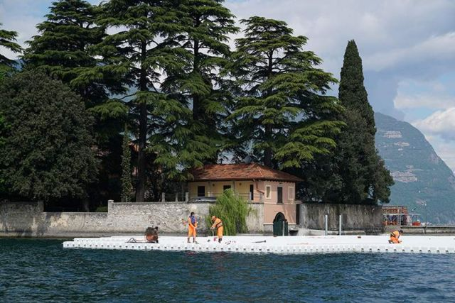 The Floating Piers in Italy (9)