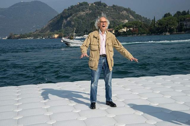 The Floating Piers in Italy (7)