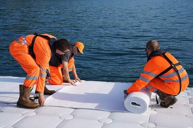 The Floating Piers in Italy (5)