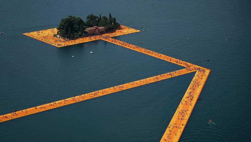 Floating Piers on Lake Iseo (8)
