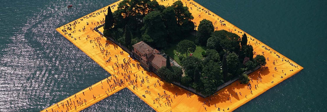 Floating Piers on Lake Iseo (1)