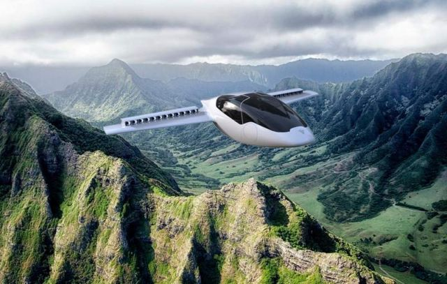The Lilium Jet takes off and lands vertically (2)