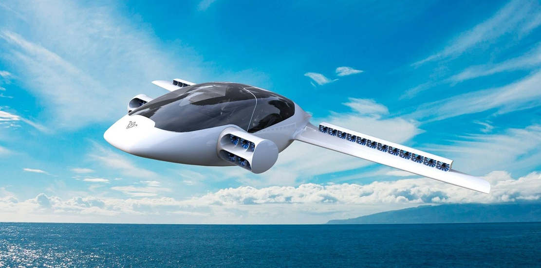 The Lilium Jet takes off and lands vertically (1)