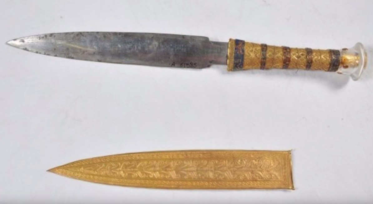 utankhamun's Blade was made from Meteorite