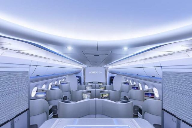 Airspace by Airbus Cabin concept