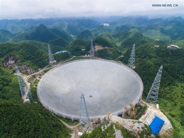 China's Alien-Hunting Telescope is ready