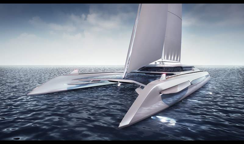Eco catamaran sailing yacht (10)
