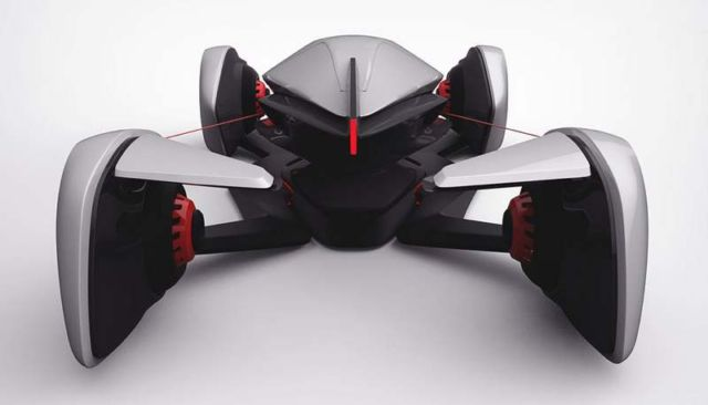 FORMUL2 concept electric car (2)
