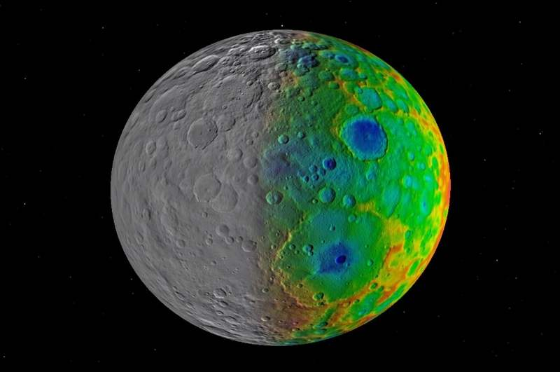 Missing Large Craters in Ceres