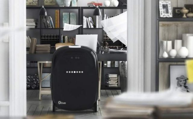 Olive intelligent suitcase