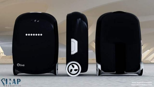 Olive intelligent suitcase (3)