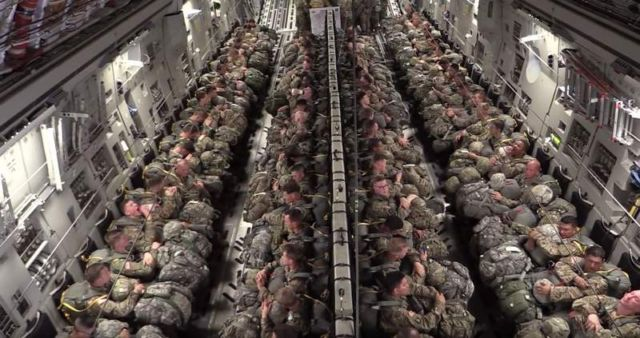 Paratroopers Static Line Jump